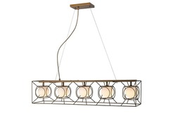 Glass pendant lamp NC6144P-5