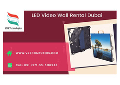 Video Wall Rental in Dubai for Events