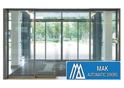 Automatic Glass Sliding Doors in Sharjah, Sliding glass Doors In Sharjah – Mak Automatic Doors