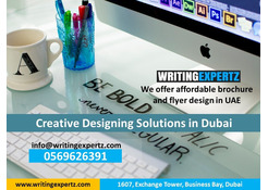 Call 0569626391 Graphic Design / Profile, Brochures, Flyers Printing - Dubai WRITINGEXPERTZ