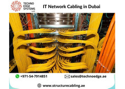 Best IT Network Cabling Installation in Dubai