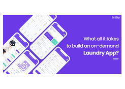 What All It Takes To Build An On-Demand Laundry App