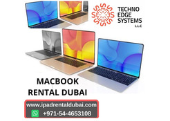 MacBook Rental Duabi the Meticulous way for Success