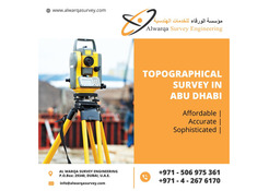 Topographical Survey in Abu Dhabi | Fujairah