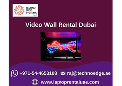 How to Display Information through Video Wall Rental?