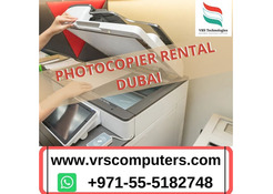 Photocopier Rental Dubai - VRS Technologies