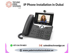 IP Phone Installation in Dubai From Techno Edge Systems