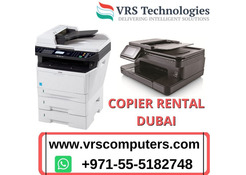 Photocopier Rental Dubai for Serving Multiple Purposes