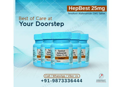 Generic Hepbest 25mg (Tenofovir Alafenamide) Tablets Wholesaler and Bulk Supplier Online