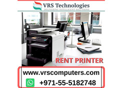 Save Smart with Printer Rental in Dubai