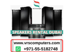 How to Choose Speakers Rental for Weddings in Dubai