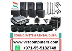 Sound System Rentals Dubai for Business Events, Meetings
