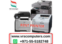 Printing Requirements Rental in Dubai From VRS Technologies