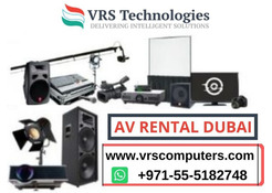 AV Rental for Different Sectors in Dubai
