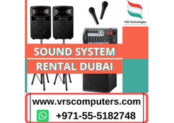 VRS Technologies offers Sound System Rental Dubai
