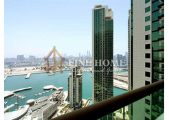 Enjoy Great Sea View in this 1BR Residential Apartment