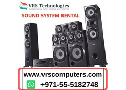 Benefits a Sound System Rental At School Extends in Dubai