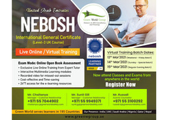 Special Offer on Safety Course NEBOSH IGC in UAE