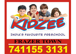 Kidzee Frazer Town | Play School Admission Started Now | 1813 |