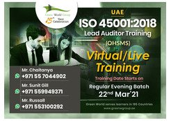 Specially Offered ISO 45001 Lead Auditor Course