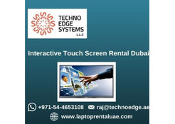 Why to Rent Interactive Touch Screens in Dubai?