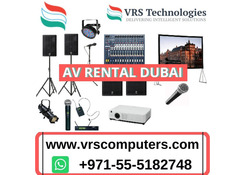 AV Equipment Rental at a Competitive Price in Dubai