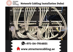 Best Network Cabling Installation in Dubai