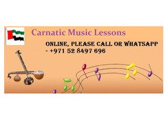 CARNATIC MUSIC CLASSES AVAILABLE