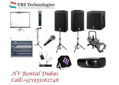 Audio Visual Rental At A Competitive Prices in Dubai