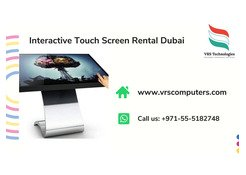 Interactive Touch Screen Kiosk Rentals for Events in UAE