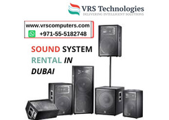 Renting Sound System for Indoor and Outdoor Events in Dubai