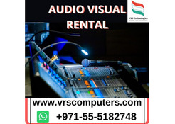 High-Quality AV Rental Technology in Dubai For Events