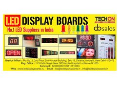 TECHON - LED DISPLAY BOARDS AND GLOW SIGN BOARDS