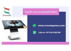 Commercial Quality Touch Screen Rental in Dubai