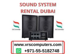 Guaranteed Best Prices in Sound System Rental Dubai