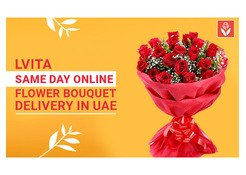 Same day online Flower Bouquet Delivery in UAE