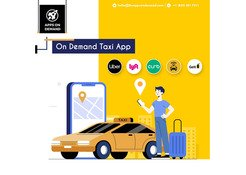 Top Rated On Demand Taxi Booking App Development Company