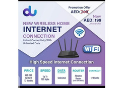 Home Internet connection