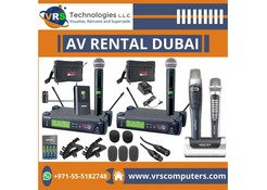 Why is Audio Visual Rental is the Best Choice in Dubai