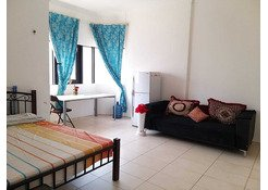 Fully furnished Big Room with Bath Available for couple or lady in TCA, Abu Dhabi