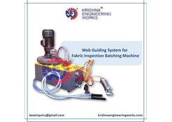 Web Guiding System Manufacturer, Fabric Inspection Batching Machine