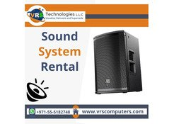 Sound System Rental Enhances the Effect of the Music in Dubai
