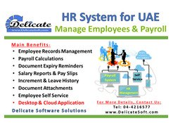 Web Based Payroll System. Calculate Salaries in one click