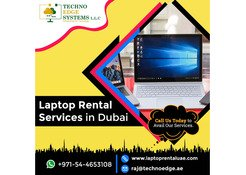 Laptop Rental Services In Dubai And All Over UAE